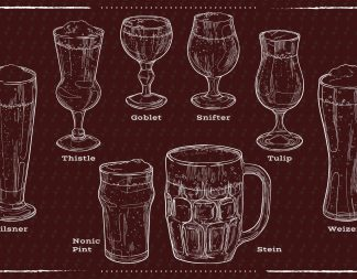 Ultimate Beer Glass Guide to the Galaxy